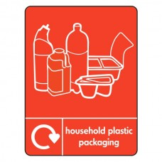 Household Packaging Recycling Sign (WRAP)