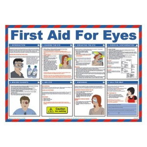 First Aid For Eyes Poster
