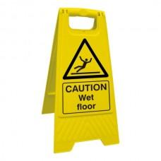 Caution Wet Floor  Stand